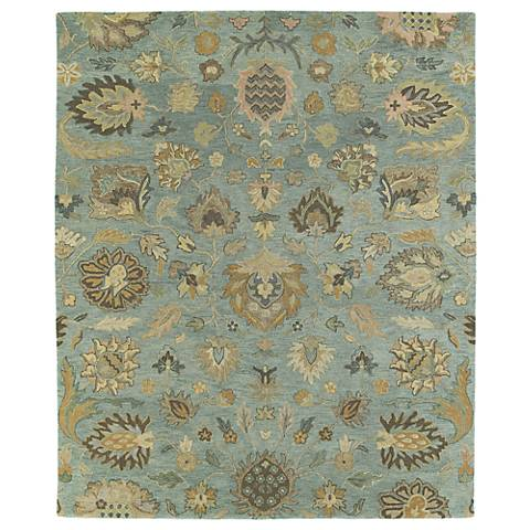 Kaleen Helena 3203-56 Troy Spa Wool Area Rug