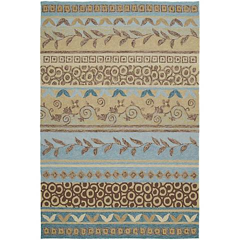 Kaleen Home & Porch 2028-34 Idle Hour Glacier Rug