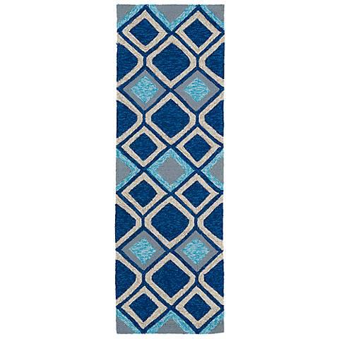 Kaleen Home & Porch 2033-17 Blue Diamond Rug