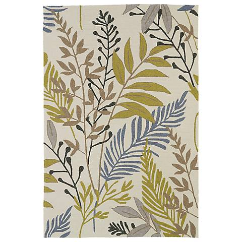 Kaleen Home & Porch 2038-29 Sand Leaf Rug