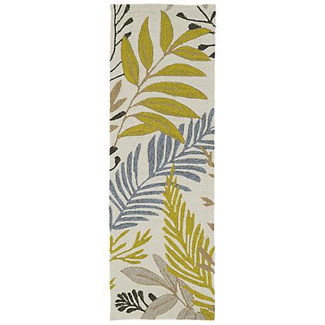 Kaleen Home & Porch 2038-29 Sand Leaf Rug