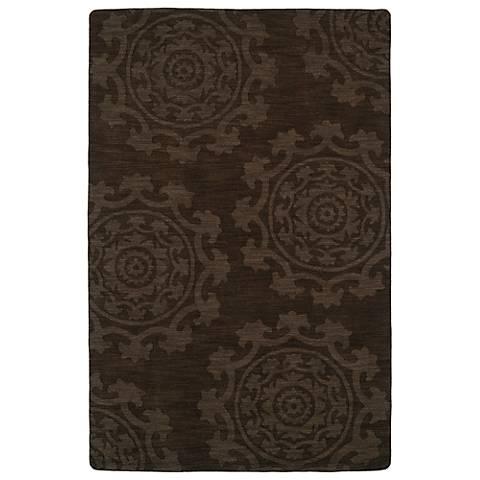 Kaleen Imprints Classic IPC01-40 Chocolate Rug