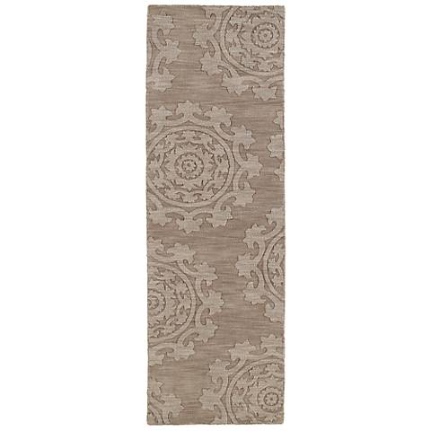 Kaleen Imprints Classic IPC01-82 Light Brown Rug