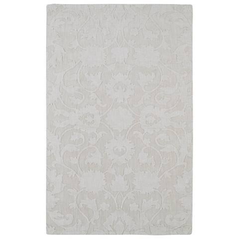 Kaleen Imprints Classic IPC02-01 Ivory Wool Area Rug