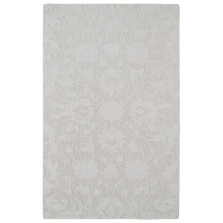 Kaleen Imprints Classic IPC02-01 Ivory Wool Area Rug