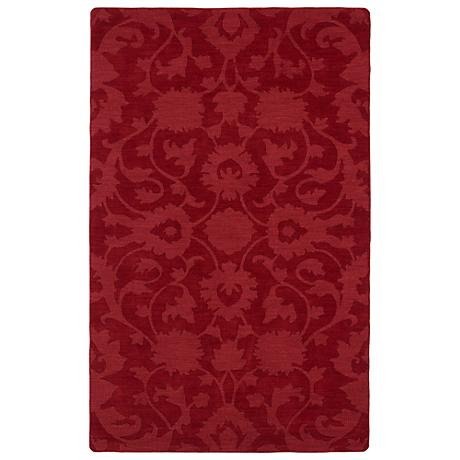 Kaleen Imprints Classic IPC02-25 Red Area Rug