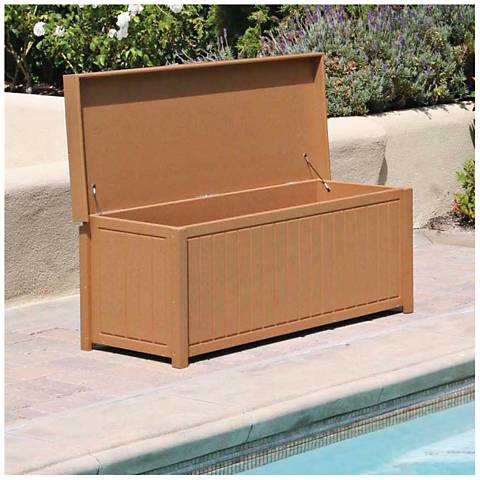 Brisbane Cedar Outdoor Deck Storage Trunk