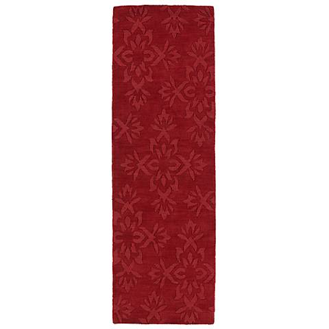 Kaleen Imprints Classic IPC04-25 Red Floral Rug