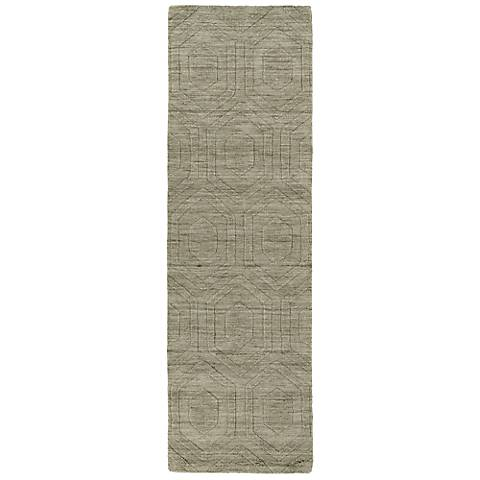 Kaleen Imprints Modern IPM01-82 Brown Hexagon Rug