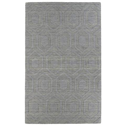Kaleen Imprints Modern IPM01-83 Steel Hexagon Rug