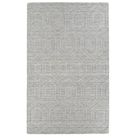 Kaleen Imprints Modern IPM01-83 Steel Hexagon Rug
