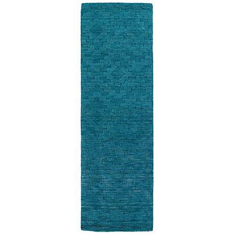 Kaleen Imprints Modern IPM04-78 Turquoise Rug