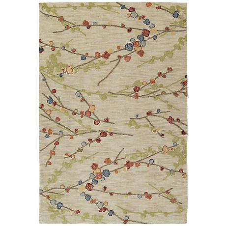 Kaleen Inspire 6407-42 Homage Linen Area Rug