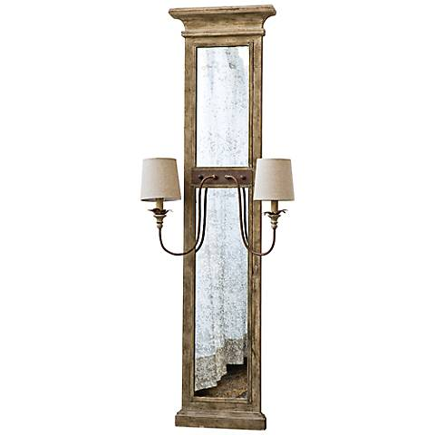 "Regina Andrew Design Provence 62"" Mirror Panel Sconce"