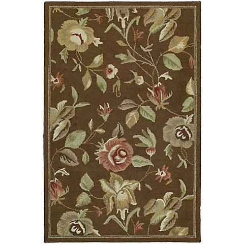 Kaleen Khazana 6557-40 Savannah Chocolate Area Rug