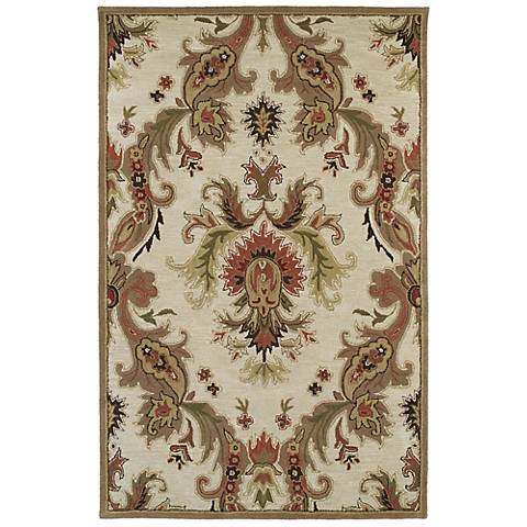 Kaleen Khazana 6583-42 Nassau Linen Wool Area Rug
