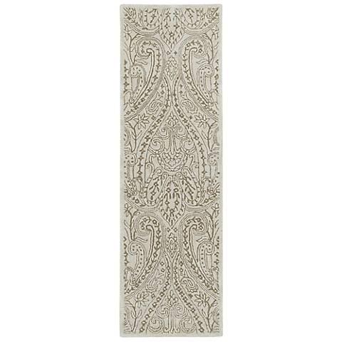Kaleen Khazana 6586-01 Teresa Ivory Wool Area Rug