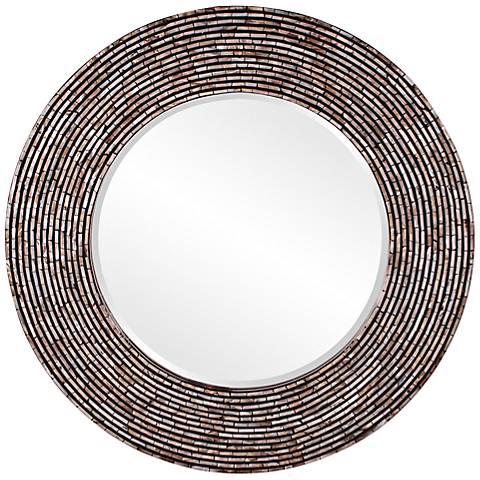 "Howard Elliott Orlando 36"" Round Wall Mirror"