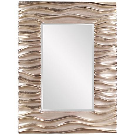 "Howard Elliott Zenith 31"" x 39"" Wall Mirror"