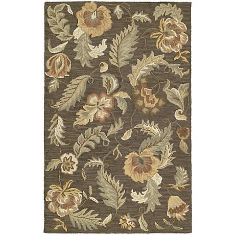 Kaleen Khazana 6593-68 Hana Graphite Wool Area Rug