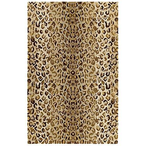 Kaleen Khazana 6607-60 Ashanti Mocha Wool Area Rug