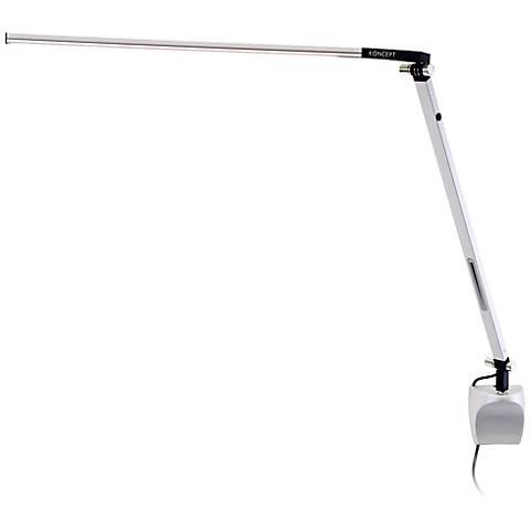 Koncept Gen 3 Z-Bar Solo Daylight LED Silver Wall Lamp