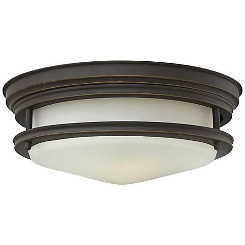 "Hinkley Hadley 12"" Wide Oil-Rubbed bronze Ceiling Light"