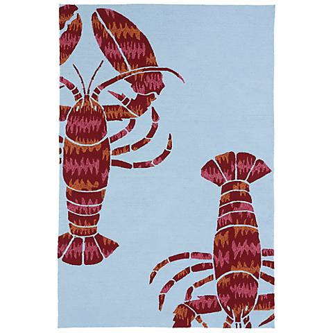 Kaleen Matira MAT05-17 Blue Indoor/Outdoor Rug