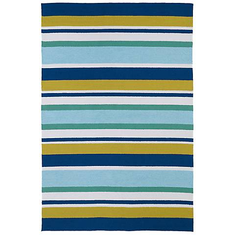 Kaleen Matira MAT08-17 Blue Indoor/Outdoor Rug