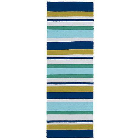 Kaleen Matira MAT08-17 Blue Indoor/Outdoor Rug