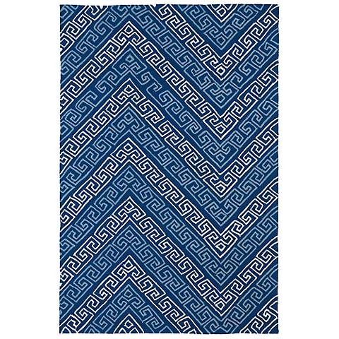 Kaleen Matira MAT11-17 Blue Indoor/Outdoor Rug