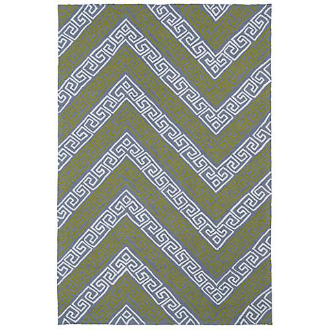 Kaleen Matira MAT11-75 Gray Indoor/Outdoor Rug