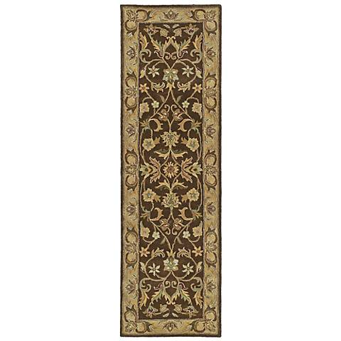 Kaleen Mystic 6001-40 William Chocolate Wool Rug