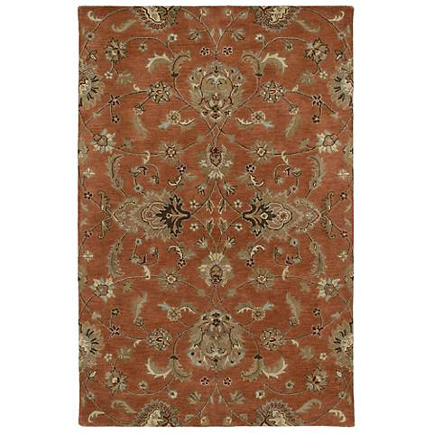 Kaleen Mystic 6060-67 Europa Copper Wool Area Rug