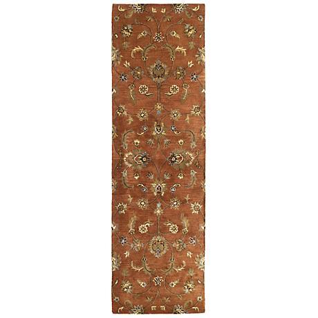 Kaleen Mystic 6060-67 Europa Copper Wool Area Rug