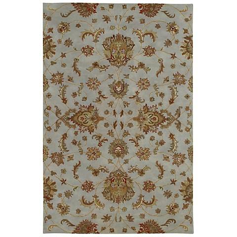 Kaleen Mystic 6060-73 Europa Pewter Wool Area Rug