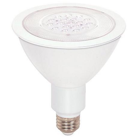 17 Watt PAR38 Short Neck Dimmable LED Light Bulb by Satco