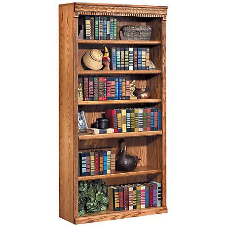 "Kathy Ireland Home Huntington 72"" Wheat Bookcase"