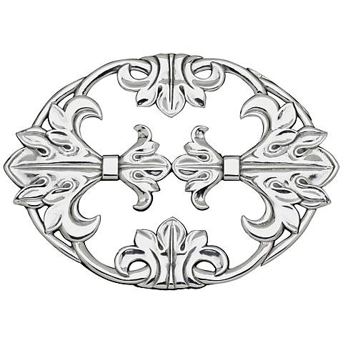 Arthur Court Fleur-de-Lis Silver Trivet