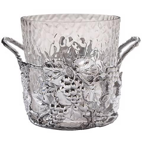 Arthur Court Grape Silver Champagne Bucket