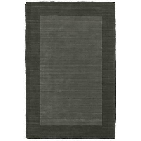 Kaleen Regency 7000-38 Charcoal Wool Area Rug