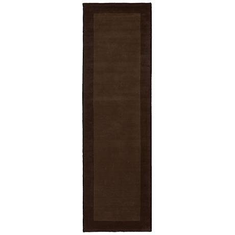 Kaleen Regency 7000-49 Brown Wool Area Rug