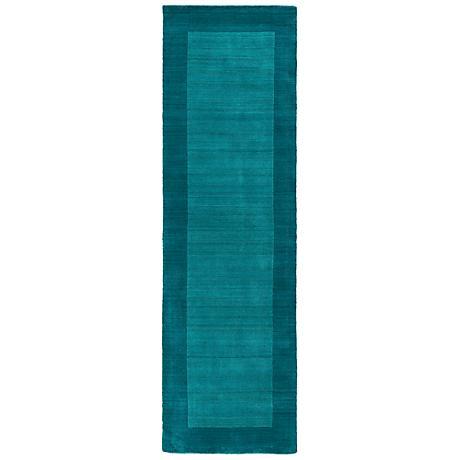 Kaleen Regency 7000-78 Turquoise Wool Area Rug
