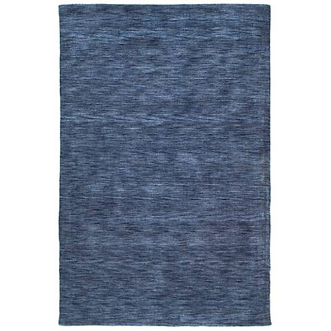 Kaleen Renaissance 4500-17 Blue Wool Area Rug