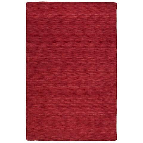 Kaleen Renaissance 4500-46 Cardinal Wool Area Rug