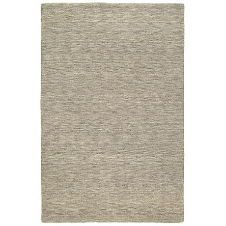 Kaleen Renaissance 4500-49 Brown Wool Area Rug