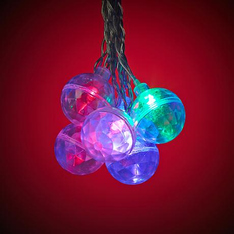 Color Changing Multi-Color 16-Light LED Party String Lights
