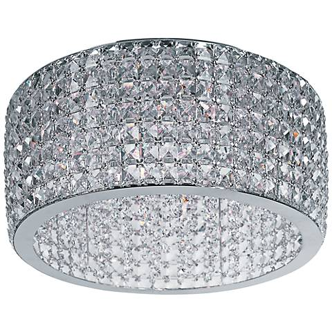 "Maxim Vision 17"" Wide Polished Chrome Ceiling Light"