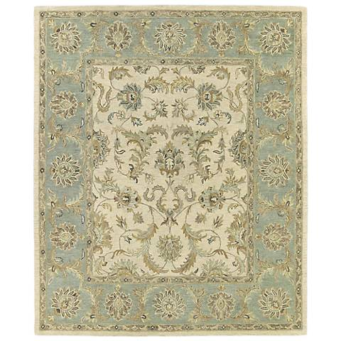 Kaleen Solomon 4052-01 King David Ivory Wool Rug