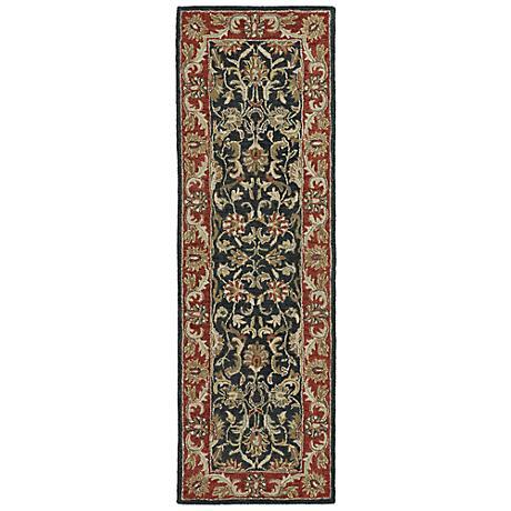 Kaleen Solomon 4052-68 King David Graphite Wool Rug
